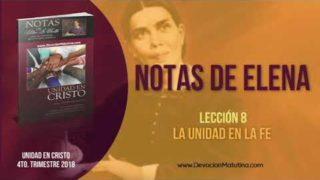 Notas de Elena | Domingo 18 de noviembre 2018 | Salvación en Jesús | Escuela Sabática