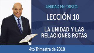 Comentario | Lección 10 | La unidad y las relaciones rotas| Escuela Sabática Pr. Alejandro Bullón