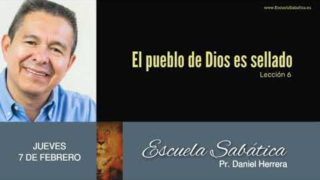 7 de febrero 2019 | Redimidos para Dios y para el Cordero | Escuela Sabática Pr. Daniel Herrera