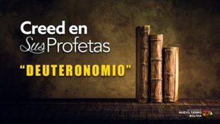 17 de marzo | Creed en sus profetas | Deuteronomio 3