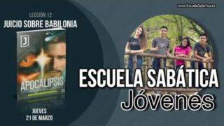 Lección 12 | Jueves 21 de marzo 2019 | La bestia en la iglesia | Escuela Sabática Joven