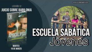 Lección 12 | Martes 19 de marzo 2019 | En el día del juicio | Escuela Sabática Joven
