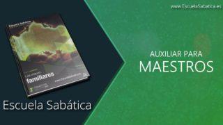 Auxiliar | Lección 1 | Los ritmos de la vida | Escuela Sabática Semanal
