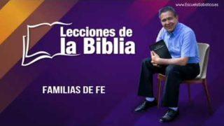 14 de junio 2019 | Familias de fe | Escuela Sabática Pr. Daniel Herrera