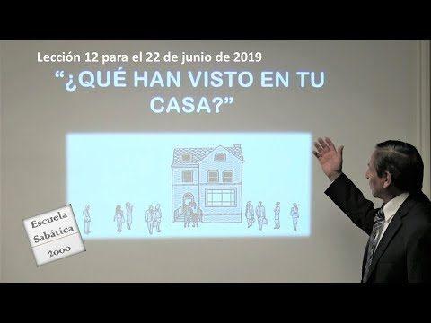 Lección 12 | ¿Qué han visto en tu casa? | Escuela Sabática 2000