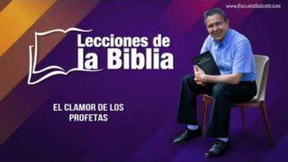 2 de agosto del 2019 | El Clamor de los profetas | Escuela Sabática Pr. Daniel Herrera