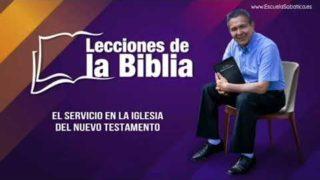 30 de agosto 2019 | El Servicio en la Iglesia del Nuevo Testamento | Escuela Sabática Pr. Daniel Herrera