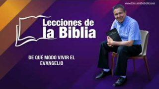 6 de septiembre del 2019 | De qué modo vivir el evangelio | Escuela Sabática Pr. Daniel Herrera