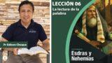Bosquejo | Lección 6 | La lectura de la palabra | Escuela Sabática Pr. Edison Choque