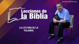Viernes 8 de noviembre del 2019   La lectura de la Palabra   Escuela Sabática Pr. Daniel Herrera