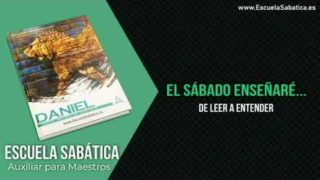 Auxiliar   Lección 1   De leer a entender   Escuela Sabática Semanal