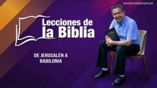 Lunes 6 de enero del 2020 | Fe bajo presión | Escuela Sabática Pr. Daniel Herrera