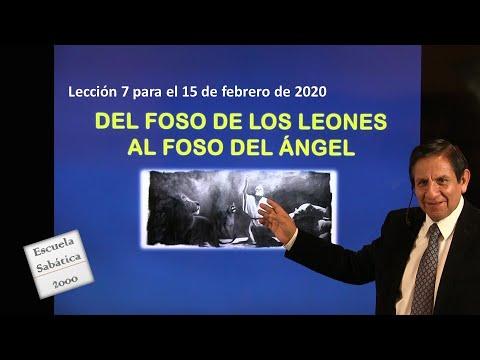 Lección 7 | Del foso de los leones al foso del ángel | Escuela Sabática 2000