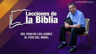 Miércoles 12 de febrero del 2020 | En el foso de los leones | Escuela Sabática Pr. Daniel Herrera