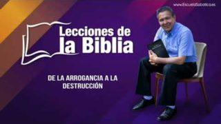 Miércoles 5 de febrero del 2020 | Pesado y hallado falto | Escuela Sabática Pr. Daniel Herrera