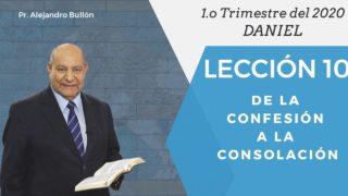 Comentario   Lección 10   De la confesión a la consolación   Escuela Sabática Pr. Alejandro Bullón