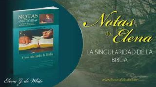 Notas de Elena | Domingo 29 de marzo del 2020 | La palabra viva de Dios | Escuela Sabática