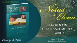 Notas De Elena | Jueves 28 de mayo del 2020 | La creación en la Escritura | Escuela Sabática