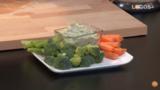 12 | Paté de judías blancas y eneldo con verduras crudas | Cocina con Raquel