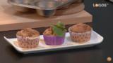19 | Magdalenas de manzanas veganas | Cocina con Raquel