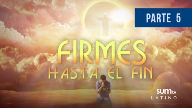 5 | Lo Santo y lo Profano | Firmes Hasta El Fin | Pr. Esteban Bohr