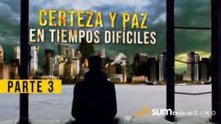 3 | El Secreto de la Paz | Certeza y Paz en tiempos difíciles | Pr. Esteban Bohr